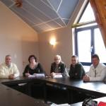 Première réunion du conseil élu en mars 2014
