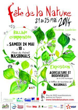 fête de la nature 2014 autour de Nasbinals Lozère