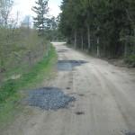 chemin rural réempierré