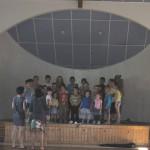 Répétition du spectacle de l'école de La Chaze - Sainte Colombe de Peyre, année 2014/2015
